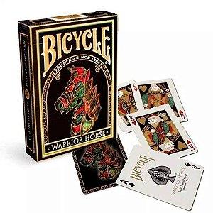 Baralho Premium Bicycle Warrior Horse deck Coleção