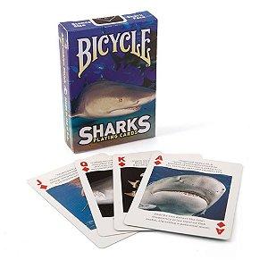Baralho Premium Bicycle Sharks Coleção
