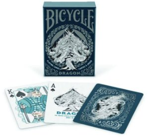 Baralho Premium Bicycle Dragon Premium Deck Coleção