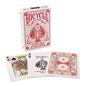 Baralho Premium Bicycle Cyclist Red / Vermelho Coleção