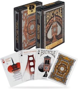 Baralho Bicycle Architectural Wonders of the World Premium