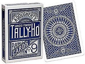 Baralho Premium Tally-Ho Circle Azul Coleção