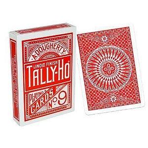 Baralho Premium Tally-Ho Circle Vermelho Coleção