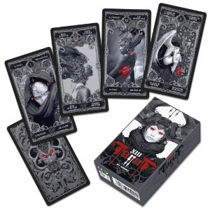 Baralho Premium Fournier Tarot By Nekro Coleção