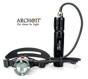 Lanterna de Cabeça e Mergulho Canister Profissional Archon Wh31 - Filmagem Subaquática