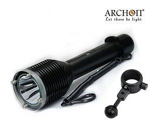 Lanterna de Mergulho Led Alto Brilho PRO Archon W28 com Suporte Câmera - Fotografia Submarina
