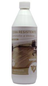 CERA RESISTENTE LAMINADOS E VINÍLICOS ACETINADA 1L W&W