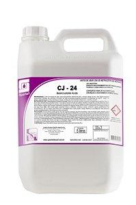 CJ 24 DESINCRUSTANTE ACIDO LIMPADOR DE PISO 5L