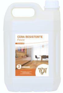 CERA RESISTENTE PISO MADEIRA FOSCA 5L W&W