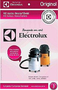 SACO ASPIRADOR ELETROLUX ORIGINAL (A20,A20L,A20 SMART,GT300,GT30N) C/3
