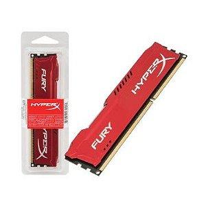 MEMORIA RAM DDR3 1866MHZ 4GB HYPER X FURY RED - KINGSTON