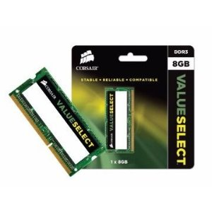 MEMORIA RAM NOTEBOOK DDR3 1600MHZ 8GB CMSO8GX3M1C1600C11 - CORSAIR