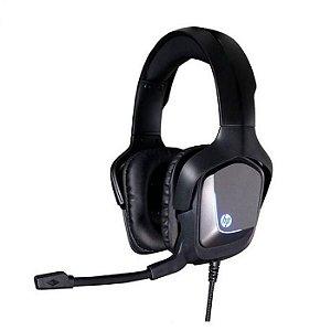 HEADSET GAMER H220 40MM PRETO P2/LED USB 2.2M - HP