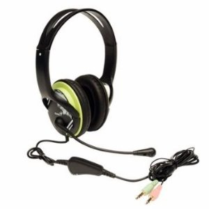 HEADSET GAMER HS-400A VERDE/GRAFITE - GENIUS