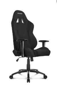 CADEIRA WOLF BLACK GAMER - AKRACING