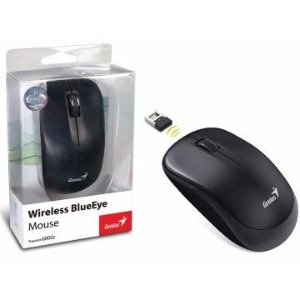 MOUSE WIRELESS TRAVELER BLUEEYE 6000Z PRETO - GENIUS