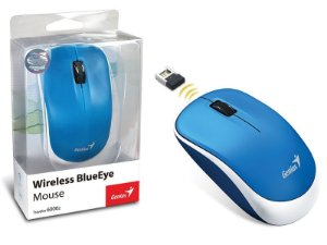MOUSE WIRELESS TRAVELER BLUEEYE 6000Z AZUL - GENIUS