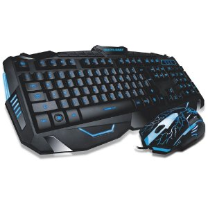 KIT TECLADO E MOUSE LIGHTNING TC195 - MULTILASER