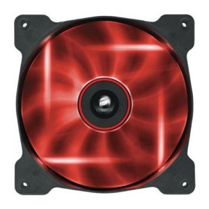 COOLER PARA GABINETE AF120 120MM LED VERMELHO CO-9050015-RLED QUIET EDITION - CORSAIR
