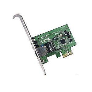 PLACA DE REDE PCI-E 10/100/1000 GIGABIT CHIP REALTEK MGLANE-JEN - MYMAX