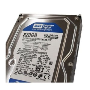 DISCO RIGIDO 320GB 8MB 7200RPM SATA II WD3200AAJS - WESTERN DIGITAL