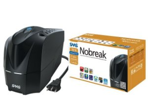 NOBREAK NEW STATION 700VA MONOVOLT 5 TOMADAS PRETO - SMS