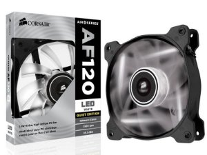 COOLER PARA GABINETE AF120 120MM LED BRANCO CO-9050015-WLED - CORSAIR