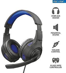 HEADSET GAMER RAVU GXT-307B P/ PC/PS4/PS5/XBOX/SWITCH - TRUST