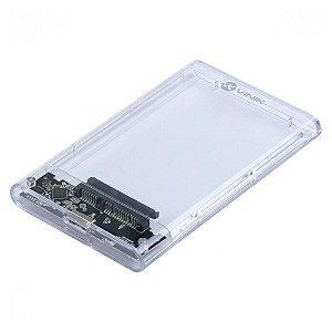 CASE PARA HD ACRILICO 2,5 USB 3.0 PRETO CH250AA - VINIK