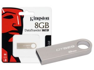PEN DRIVE DATATRAVELER 8GB DTSE9H/8GB ALUMINIO - KINGSTON