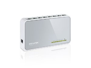 SWITCH 8 PORTAS 10/100 TL-SF1008D - TP-LINK