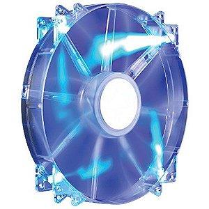 COOLER PARA GABINETE MEGAFLOW 200 BLUE LED  R4-LUS07AB-GP - COOLER MASTER