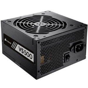 FONTE ATX 500W 80PLUS WHITE VS500 CP-9020118-LA PFC ATIVO - CORSAIR