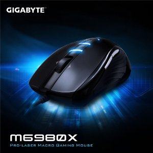 MOUSE USB GAMER GHOST M6980X LASER GM-M6980X - GIGABYTE