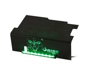 COVER P/FONTE WOLF LED VERDE RG-CP-01-WF - RISE