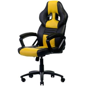 CADEIRA GAMER GTS BLACK/YELLOW 120KG - DT3 SPORTS