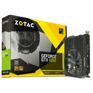 PLACA DE VIDEO GTX 1050 2GB GDDR5 128BITS 7000MHZ ZT-P10500A-10L - ZOTAC