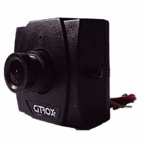 MINI CAMERA CITROX CCD DIGITAL 1/3 LENTE 2,4MM 480 LINHAS