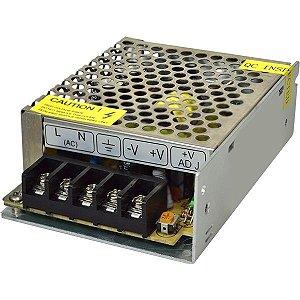 FONTE PARA CFTV 12V 5A TIPO COLMEIA XWG-60-12