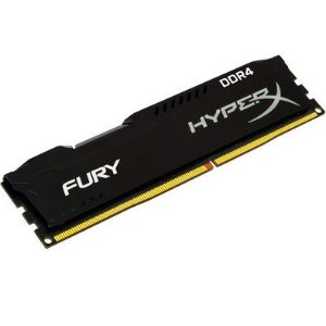 MEMORIA RAM DDR4 4GB 2400MHZ HYPERX FURY BLACK HX424C15FB/4 - KINGSTON