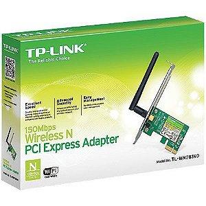PLACA DE REDE WIRELESS PCI-E TL-WN781ND - TPLINK