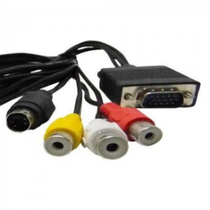 CABO VGA/S-VIDEO + RCA 1,5M WB-020021 - HITTO