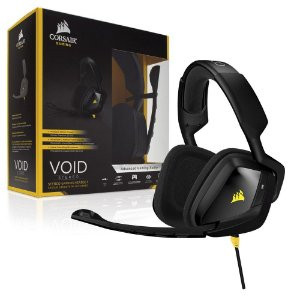 HEADSET GAMER VOID STEREO PRETO CA-9011131-NA - CORSAIR