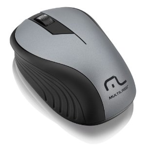 MOUSE WIRELESS WAVE PRETO/GRAFITE MO213 - MULTILASER