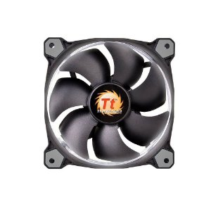 COOLER PARA CPU 120MM RIING LED BRANCO CL-F038-PL12WT-A - THERMALTAKE