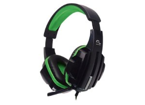 HEADSET GAMER PRETO/VERDE PH123 - MULTILASER