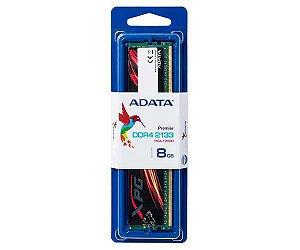 MEMORIA RAM DDR4 2133MHZ 8GB XPG BLACK/RED AX4U213338G15-SBF - ADATA