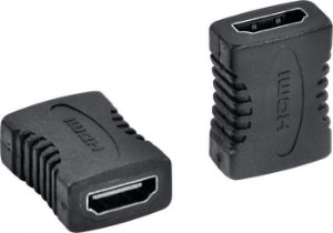 ADAPTADOR EMENDA HDMI FEMEA/FEMEA PRETO A2HF - VINIK