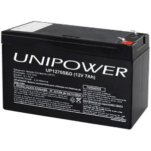 BATERIA UP1270SEG 12V 7AH F187 - UNIPOWER