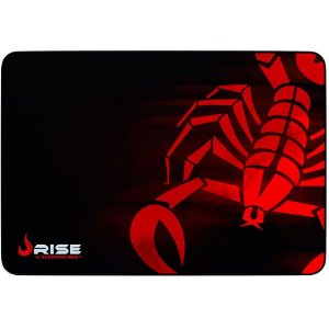 MOUSE PAD GAMER SCORPION RED GRANDE COSTURADO RG-MP-05-SR - RISE